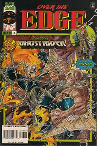 Marvel Comics Over The Edge #9 of 10 (Original Inserts) 1996 Very Good