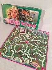 THE BIONIC WOMAN Board Game, 1976, Parker Brothers, Excellent Jamie Sommers