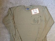 Harley Davidson Biker Blues  Long Sleeve front pocket Tan Shirt Nwt Men's Small
