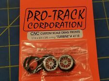 Pro Track 411E Turbine O-Ring Drag Fronts from Mid America