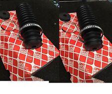 BMW m3 3.2 e46 CSL STERZO Rack Gomma Boot RACK KIT DI AVVIO Gaitor per entrambi i lati