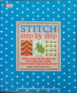 19x Embroidery Book/Threads  Stitch Step by Step/Floss, Perle3, Marlitt-XR5