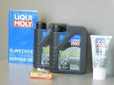 KIT DE MAINTENANCE DAELIM S3 125 Inspection huile bougie vidange d'HUILE