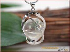 Halsketten und Anhänger mit Bergkristall echten Edelsteinen für Damen