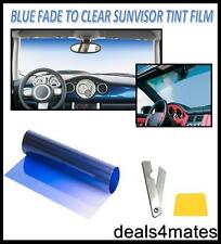 Blue Sun Strip Fade Visor Ford Transit Windscreen Tinting Tint Film