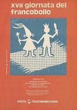X4667 XVII giornata del francobollo - Pubblicità 1975 - Advertising