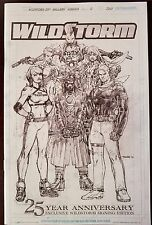 WILDSTORM 25 Anniversary Signing Gallery EXCLUSIVE Limited SKETCHBOOK Wild Storm