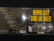 CD MEMPHIS BLUES BANDS AND SINGERS / THE 1980s /