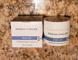 Rodan + and Fields REDEFINE Step 3 Triple Defense AM Cream SPF30 NEW & IMPROVED