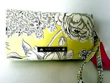 Betsey Johnson  Floral Print Wallet, Zip Around Clutch / Wristlet Wallet new