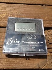 SUHR Thornbucker PAF Bridge Lead Humbucker Pickup Raw Nickel 50mm - Pete Thorn
