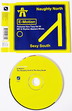 E-MOTION - The Naughty North & The Sexy South (CD Single) (VG/VG)