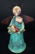 Angel Statue Art Smile Odds & Ends by Enesco 2010 Lori Siebert Gift Rustic Chic