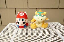 1997 Mario Bowzer Nintendo 64 Beanbag Character Collectors Plush BD&A Flying