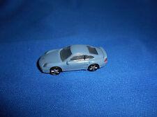 GREY Mini PORSCHE 911 TURBO COUPE Plastic Kinder Surprise CAR Vehicle