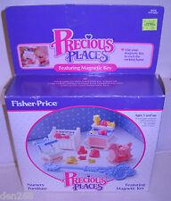 #8211 Nrfb Vintage Fisher Price Precious Places Nursery Furniture