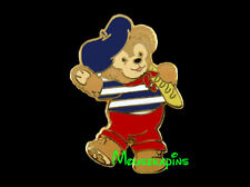 Epcot France Pavilion Duffy the French Bear Beret & French Bread Disney 2011 Pin