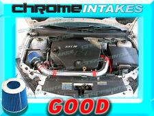 RED BLUE 06 07 08 09 CHEVY MALIBU/PONTAIC G6 3.9 3.9L V6 FULL AIR INTAKE KIT