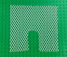 *NEW* Lego White 15x15 Stud Mesh Net w Opening Tents Jungle x 1 piece
