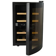 H.koenig AGE12WV réfrigérateur à vin pour 12 Bouteilles 2 Zones de température