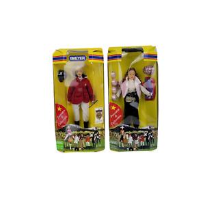 "Breyer 8"" Show Jumper Brenda Doll 525 & Jr. Rider Equestrian Collectible Dolls"