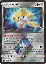 Pokemon SM Celestial Storm Card: Jirachi Prism Star - 97/168 - Rare Holo