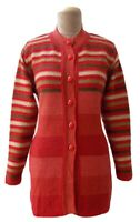 Womens Ladies Winter Knit Button Cardigan Jumper Regular UK Size 10 12 14 S11