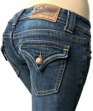 VIGOSS The New York Boot Size 7/8 Or 29 x 30 Distressed Women's Jeans ~NICE~