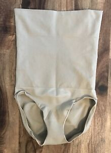 Sarah Blakely Spanx Assets Taupe Shaping Briefs Sz XL