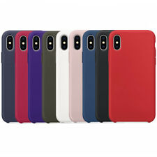 custodia silicone iphone x gialla