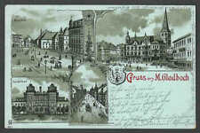 Ca 1896 PPC* VINTAGE GRUSS AUS M GLADBACH GERMANY POSTED DING IN LEFT CORNER