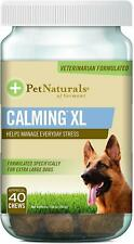 Pet Naturals of Vermont -Calming XL, Behavior Support Supplement for Dogs 75 LBS