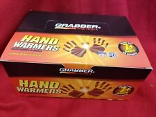 1 BOX 40 PACKS GRABBER HEAT TREAT HAND WARMERS 7 + HOURS HEATER GLOVES.NEW!!