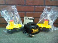 Dewalt DC9096-2Pcs/DW9116 18V XRP Battery/Charger Bundle-***NEW***