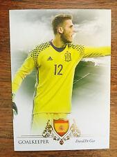 2016 Unique Futera Soccer Card - Spain DAVID DE GEA Mint