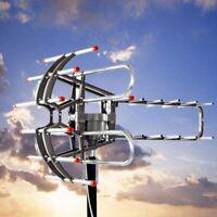 250Miles 1080P Outdoor Amplified HDTV Digital TV Antenna Long Range HD VHF/UHF