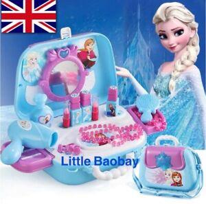 Disney Authorised Edition Girls Kids Princess Pretend Makeup Girl Toy Gift 19Pcs