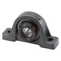 """BCA PWG 7/8R Cast Iron Pillow Block Bearing - 0.875"""" Bore - 1.625"""" Width"""
