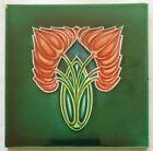 Art Nouveau Tile, Henry Richards, C1904
