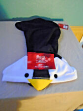 "New Black Microfleece Penguin ""Jammies For Your Families"" Dog PJs Size Small"