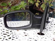 2006 black renault clio passenger side electric mirror part no 1.244.307.0