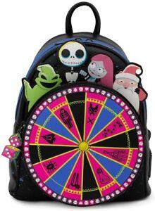 Disney Nightmare Before Christmas Oogie Boogie Wheel Mini Backpack