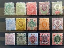 1902-13 Edward VII Definitive Stamps Pristine Unmounted Mint