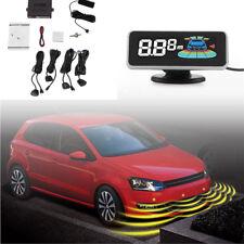 Digital Car Parking Aid System Backup Reverse Radar Sensors Kit LCD Dash Display
