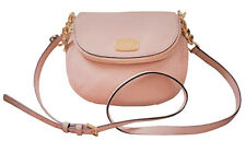 Michael Kors SM Bedford Flap Crossbody Phone Bag Purse $248 Ballet Pink Leather