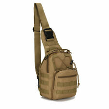 Molle Tactical Sling Chest Bag Assault Pack Messenger Shoulder Bag Backpack Gift