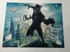 Chadwick Boseman Black Panther Signed Photo With COA