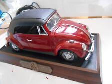 coxcinelle telephone fixe volkswagen phone beetle in box  boite