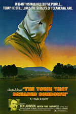 The Town That Dreaded Sundown - 1976 - Movie Poster