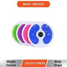 AU Twist Exercise Board Figure Twister Waist Leg Slim Disc Massage Fitness Plate